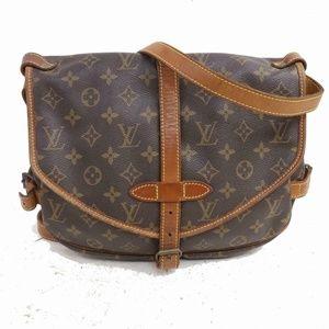Auth Louis Vuitton Saumur 30 Bag #1020L21